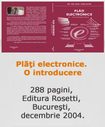 Plăți Electronice. O introducere